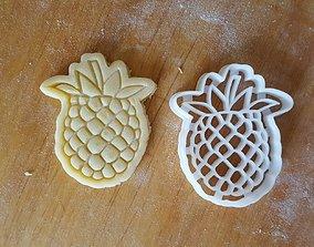 Raspberry cookie cutter 3D print model