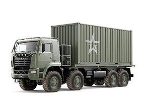 Truck KAMAZ 6560 3D