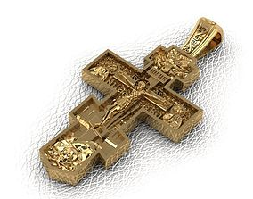 Krest-cross catholicism 3D printable model