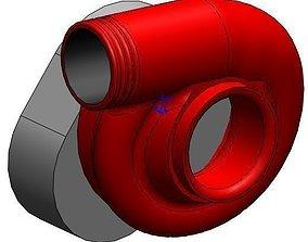 Procharger C1 Blower Supercharger 3D model