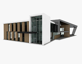 3D model Sport Center Building 2