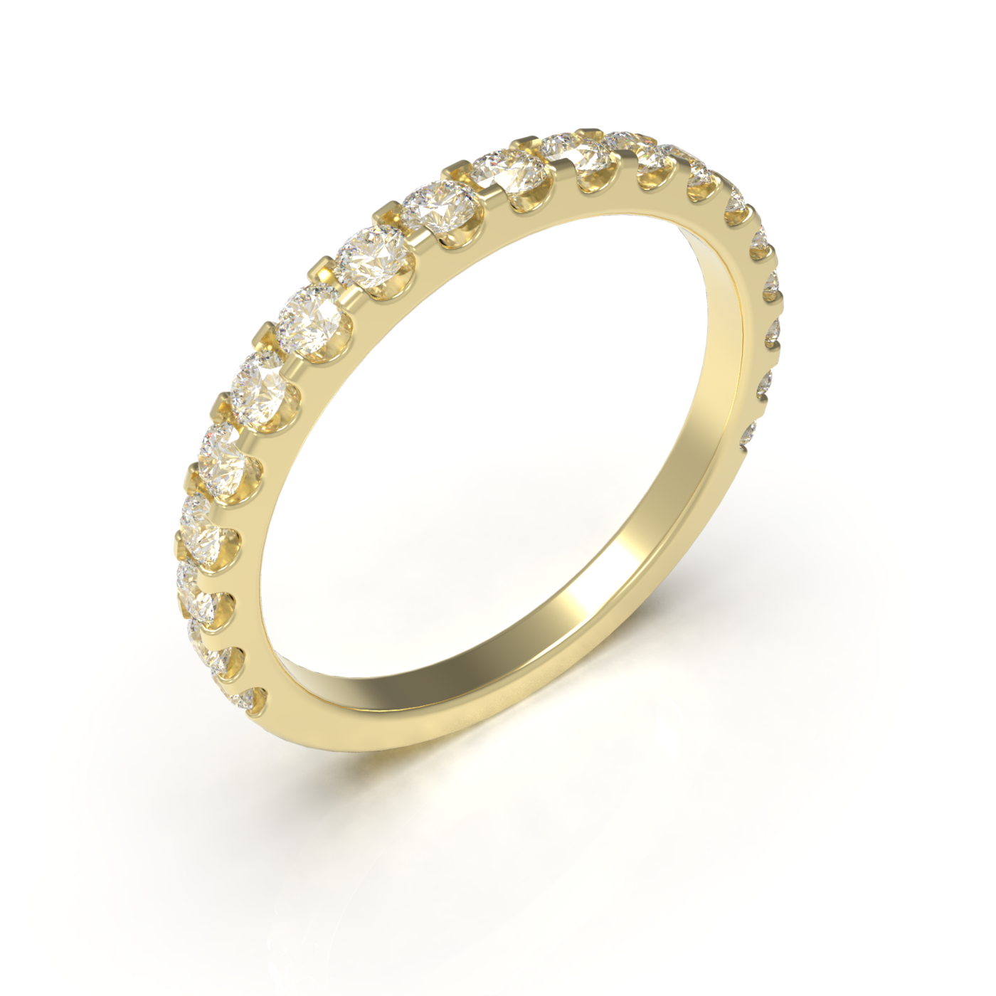 Wedding diamond ring ready for print