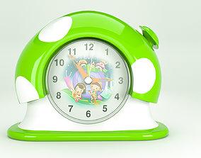 3D model game-ready Clock Cartoon