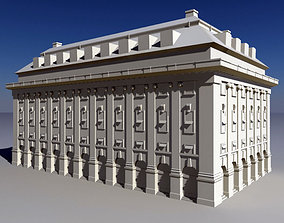 3D asset Classical Style Building historic