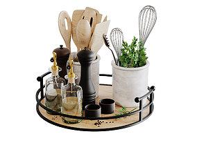 3D model Kitchen Accessories Corona