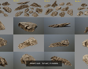 desert rock full set 3D