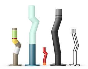 3D model Bitossi Tubes by Arik Levy
