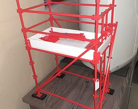 scaffolding KwikStage Scaffolding - 3D Printable parts