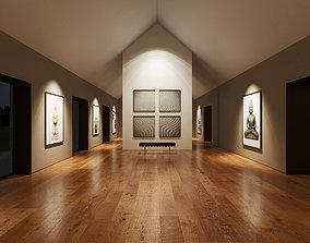 3D Art Gallery UE4 011