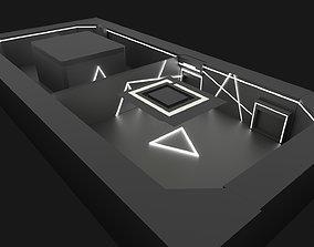 Store Area Interior 3D asset