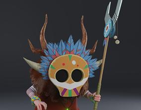shaman gnome 3d model