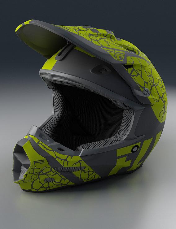 Moto Helmet Render