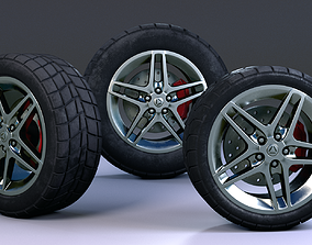 Tire Triple Pack 3D model