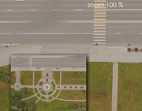 Aerial texture 301 3D asset