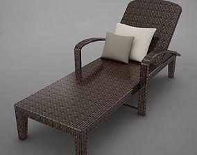 sofa chair 3 modern tropic 3D model