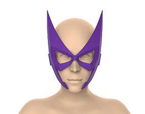 Huntress mask 3D print model