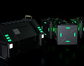 Sci-fi box 2 type 3D