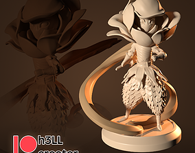 3D printable model Rose warrior