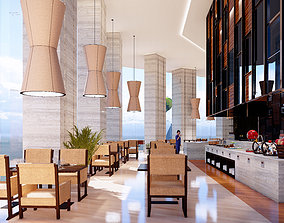 SCENE LUMION 9 AND ABOVE RESTAURANT BY YOGA4ARCH 3D