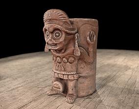 3D printable model Aztec mug