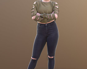Sheona 10509 - Standing Casual Girl 3D model
