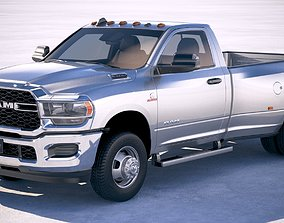Ram 3500 HD single cab 2019 3D model