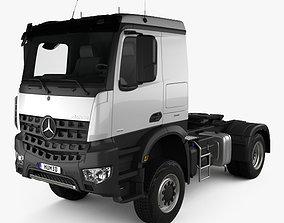 3D Mercedes-Benz Arocs Tractor Truck 2-axle 2013