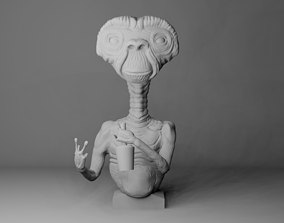 ET loosely based of the Movie 3D print model