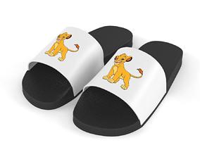 Slide Sandal 3D