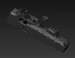 3D part scifi mortals spacecraft