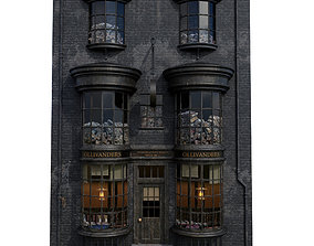 3D model Ollivanders Wand Shop