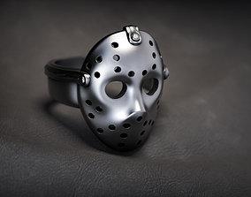 3D printable model Jason mask ring