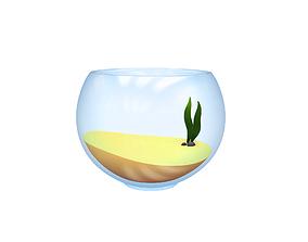 3D Fish Bowl sand