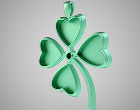 3D print model Clover Necklace