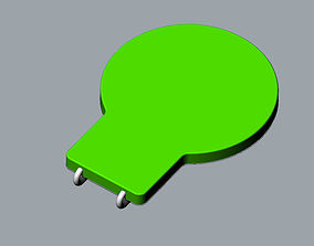 Balloon fun memory paper clip 3D MODEL
