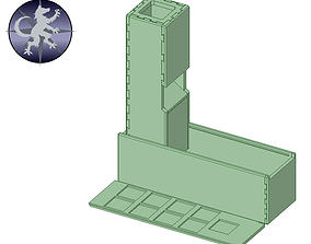 Compact Dice Tower - Ballista 3D printable model