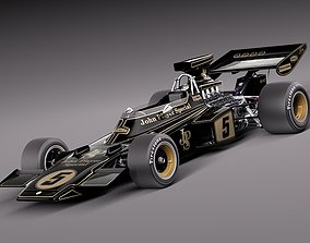 3D Lotus 72d John Player Special 1970-1975
