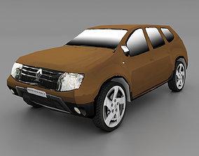 3D model Duster Lowpoly Car