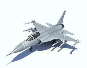 JF-17 Thunder Low polygon version 3D
