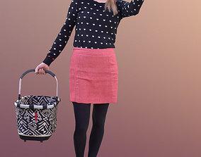 Anna 10546 - Walking Shopping Woman 3D asset