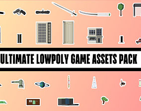game-ready ULTIMATE LOWPOLY GAME ASSETS PACK