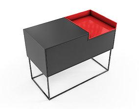 3D asset Mdf Italia - Inmotion Sideboard - 01B