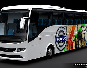 Volvo B9R 4X2 Coach 3D