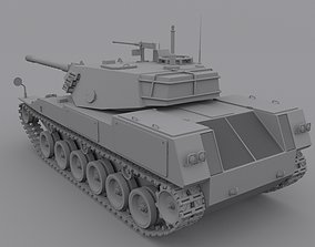 Tank Sting Ray 3D model