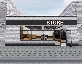 3D model Supermarket retail
