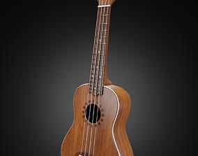 3D Ukulele or Hawaiian guitar