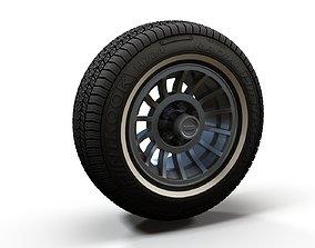 3D model Jeep highpoly wheel