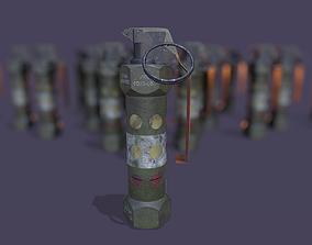 Stun Grenade 3D asset VR / AR ready