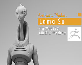 Anthony Phelan - Lama Su Kaminoan - Star 3D print model 2