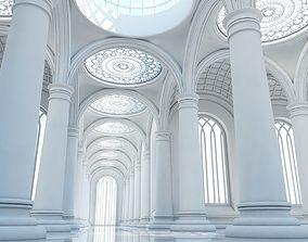 Classic Interior Corridor 3D